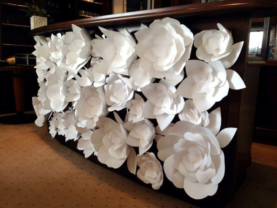 Как сделать цветы на свадьбу из бумаги