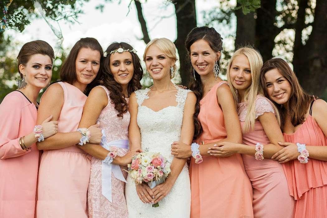Фото 9438624 в коллекции Цвет свадьбы: Розовый - Свадебное агентство Лантан