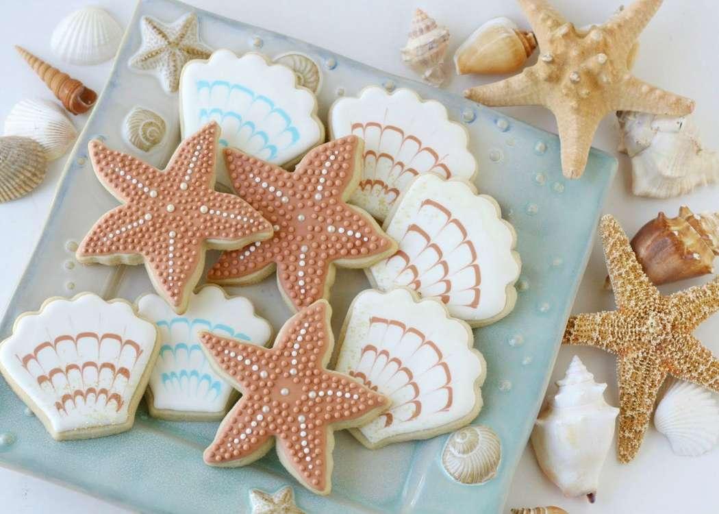 Пирожное в виде звезды фото