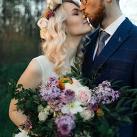 Свадебный нежный макияж с использованием только стойких текстур
