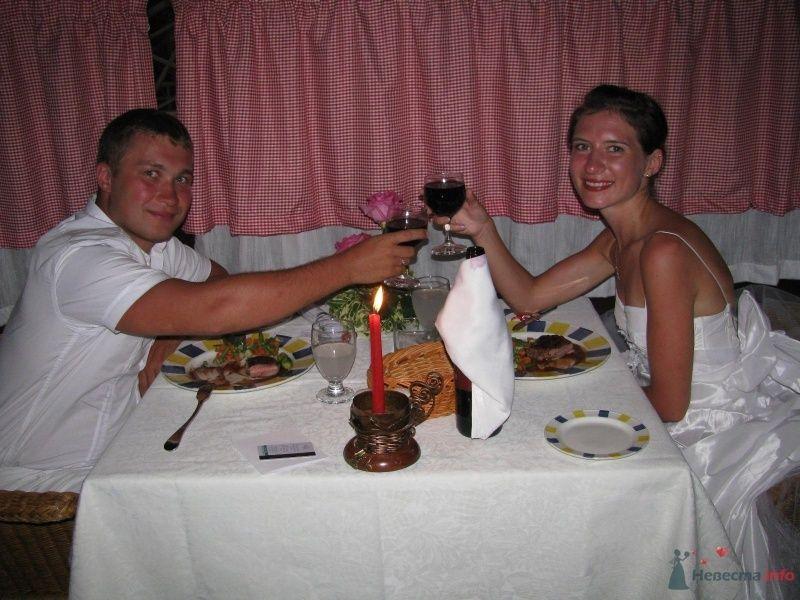 Праздничный ужин в итальянском ресторане в Сандалс