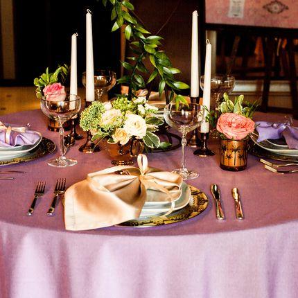 Цветные скатерти для гостевых столов - аренда на 3 дня