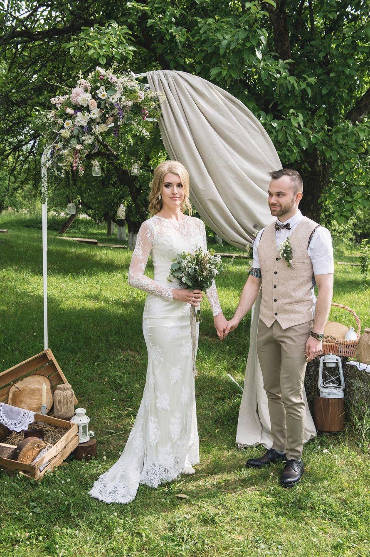 Фото 16928910 в коллекции Рустикальная свадьба - Студия декора Юлии Капраловой