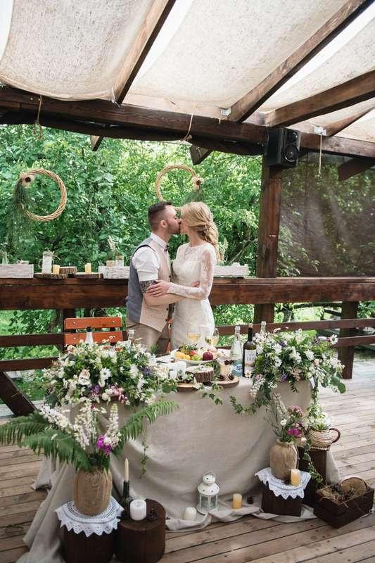 Фото 16928914 в коллекции Рустикальная свадьба - Студия декора Юлии Капраловой