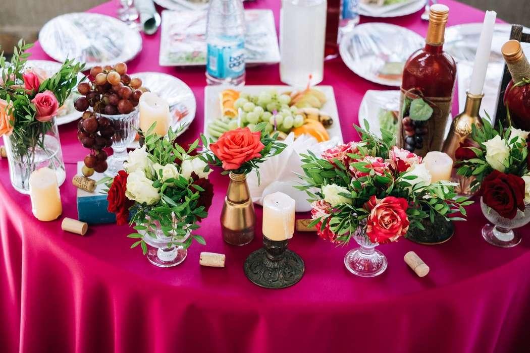 Фото 17272082 в коллекции Винная свадьба Ирины и Дмитрия - Студия декора Юлии Капраловой