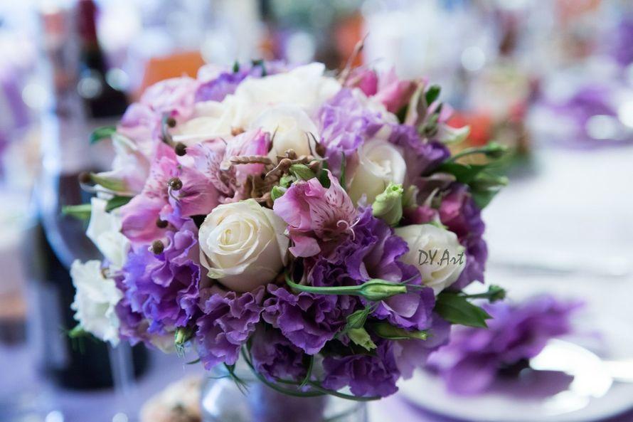 Фото 9604478 в коллекции Букет невесты, свадебный букет, бутоньерка, браслет - DY.Art