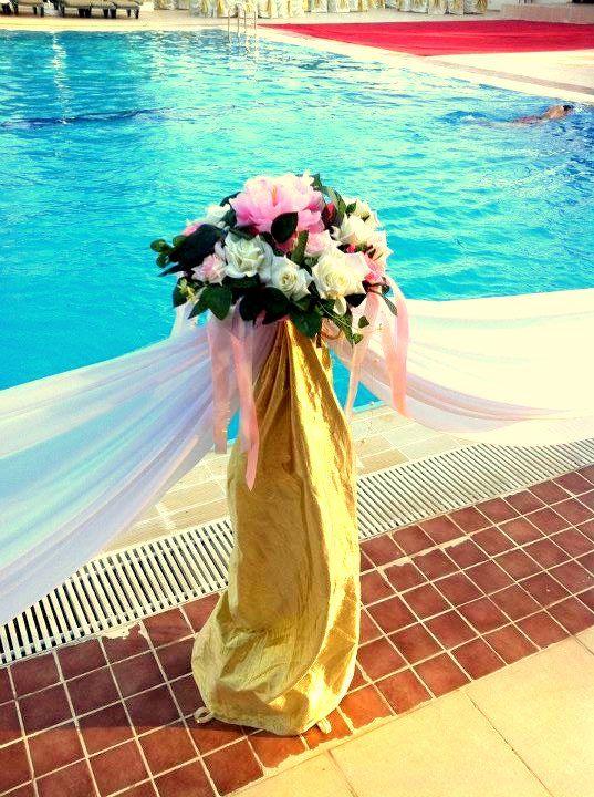 Организация свадеб в Анталии . В отель у бассейна. - фото 802177 TUANA Организация свадьб и торжеств в Анталии