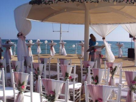 Оформление пирса - фото 1020037 TUANA Организация свадьб и торжеств в Анталии