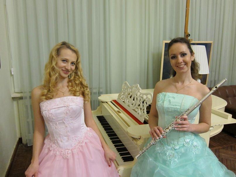 "флейта и фортепиано - фото 917617 Шоу-дуэт ""КТ-music"""