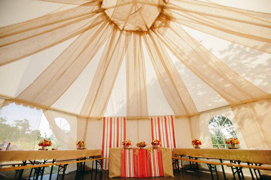 Шатер для свадебного пира в лесу - фото 4402219 Свадебный распорядитель, выездной регистратор Ирэм
