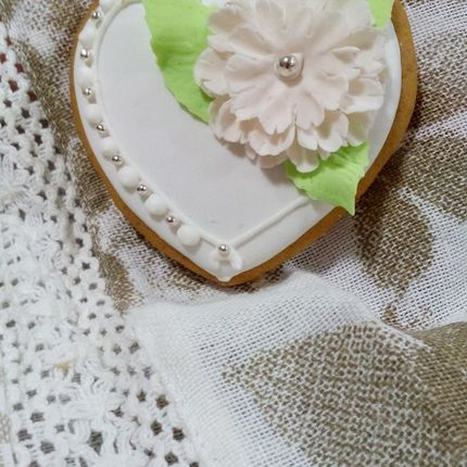 Пряник Свадебно сердечко