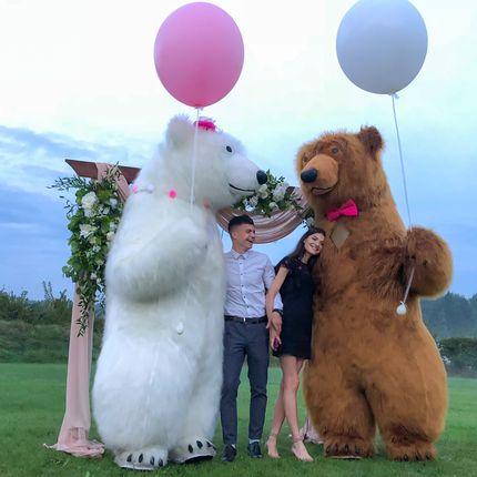 Танцевальное шоу двух медведей