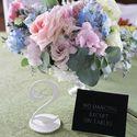 Оформление столов гостей на свадьбе Дани и Йонаса 29.07.2017