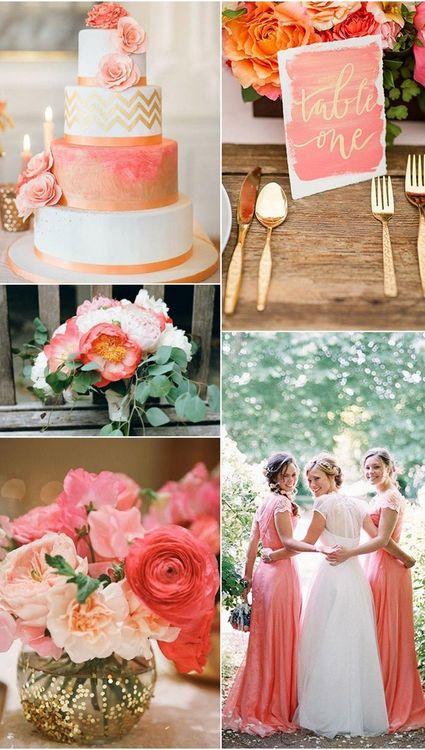 Персиковый. Свадьба