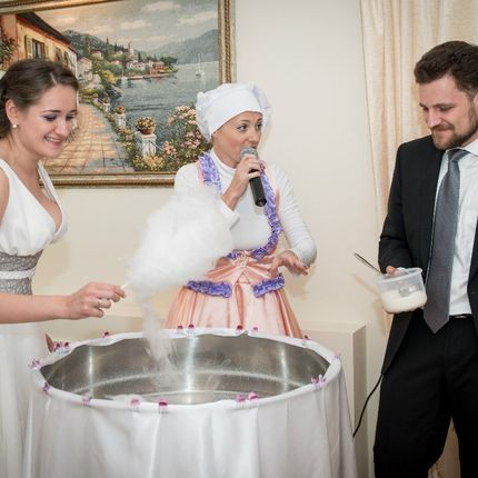 Интерактивный шоу-номер на свадьбу