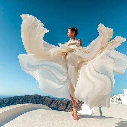 Индивидуальный дизайн свадебного платья
