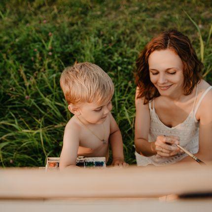 Семейные и детские фотосессии, 1 час