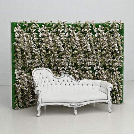 Свадебная фотозона Flowers bloom backdrop