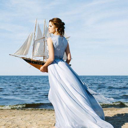 """Свадебное платье """"Туманность"""""""