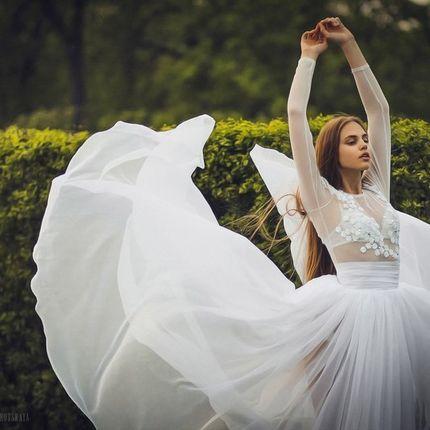"""Свадебное платье """"Воздух"""""""
