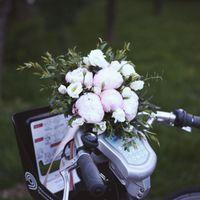 Букет невесты из пионов за 3500 рублей