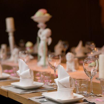 Оформление зала - пакет Персиковая свадьба
