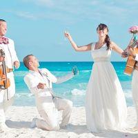 Свадьба в Канкуне, Мексика