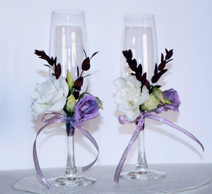 Бокалы для жениха и невесты - фото 10453910 Мирабелла свадебное агентство