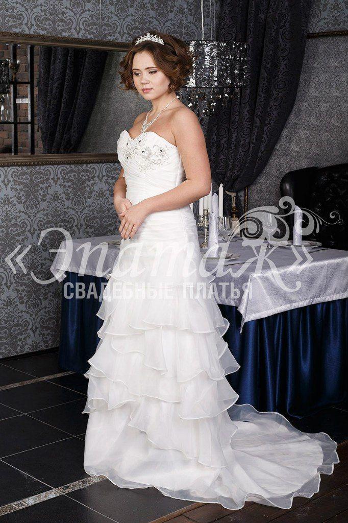 Свадебное платье Лувр