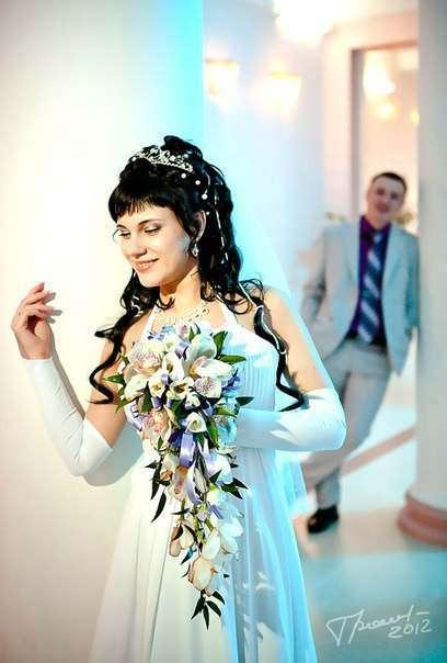 """Фото 1152779 в коллекции букет невесты - Студия флористики и дизайна """"Kiss"""""""