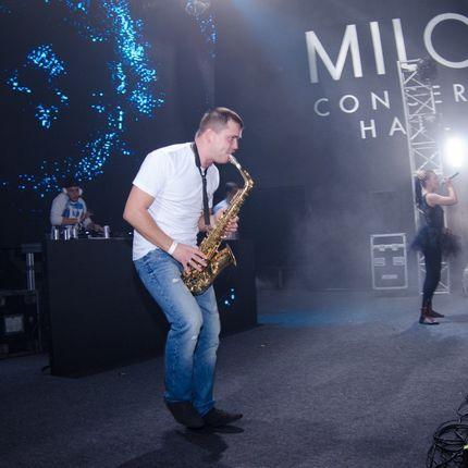 Саксофонист Михаил Соловьев