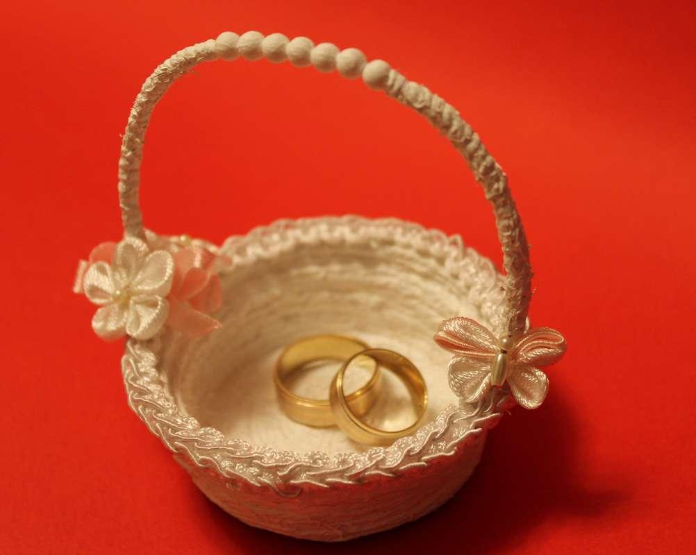 Корзиночка для колец на свадьбу своими руками фото 38
