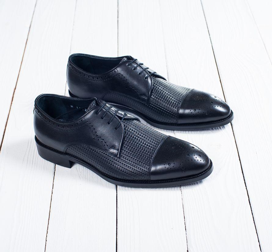 Туфли Дерби чёрного цвета