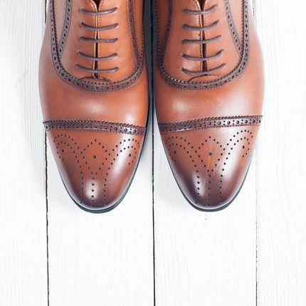 Туфли для жениха Оксфорды