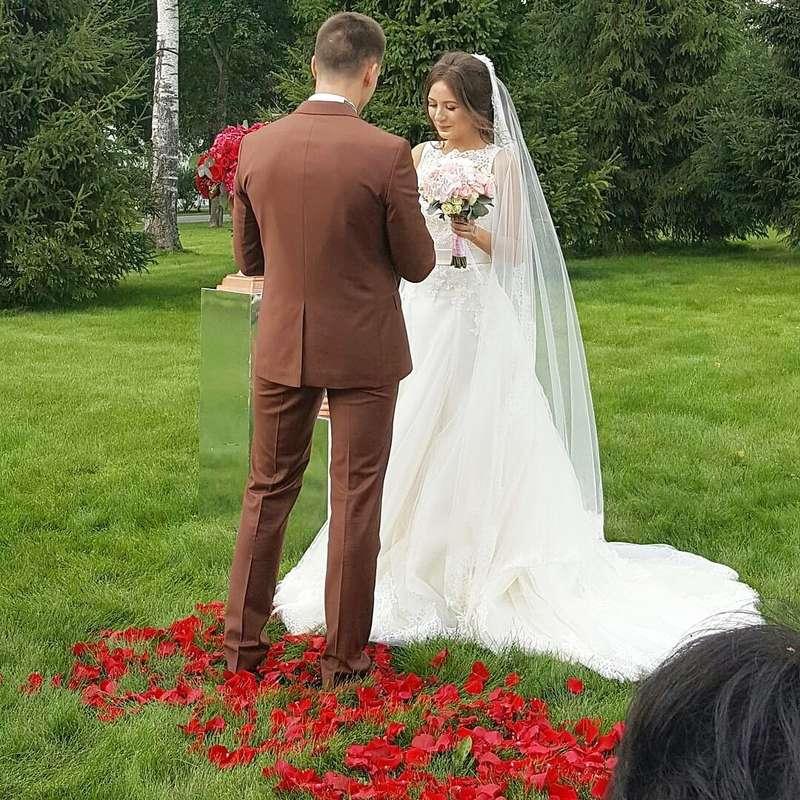 """А это наша прекрасная пара, свадьбу которых мы оформляли 21.08.16 - фото 11699622 Свадебное агентство """"As Love"""""""