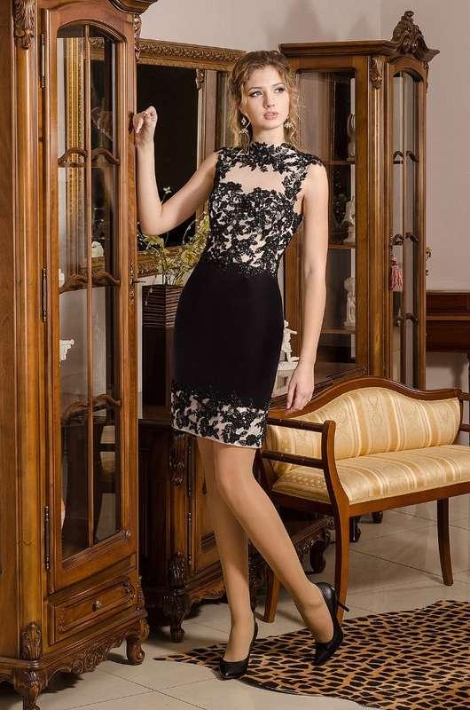 вечернее платье расшитое бисером, дизайнер Viktoria Karandasheva - фото 10579542 Салон Viktoria Karandasheva