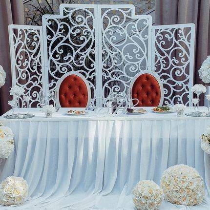 Оформление свадьбы, декор