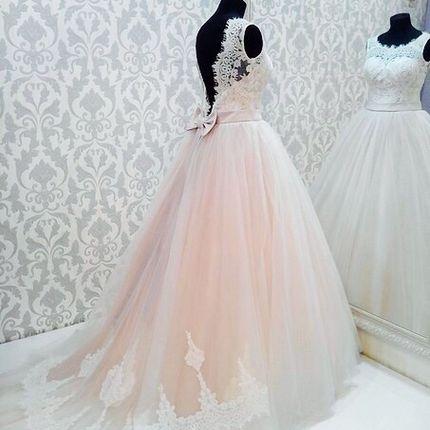 """Свадебное платье """"Розовый кварц"""""""