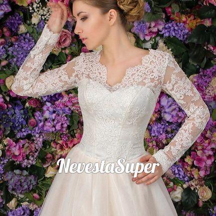 """Свадебное платье """"Пряная роза"""""""