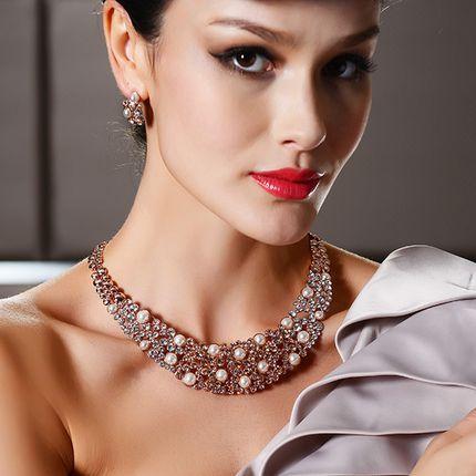 Комплект - ожерелье и серьги, kt00601