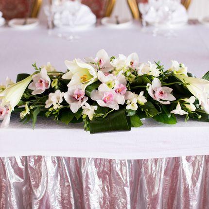 Свадебная флористика на столы