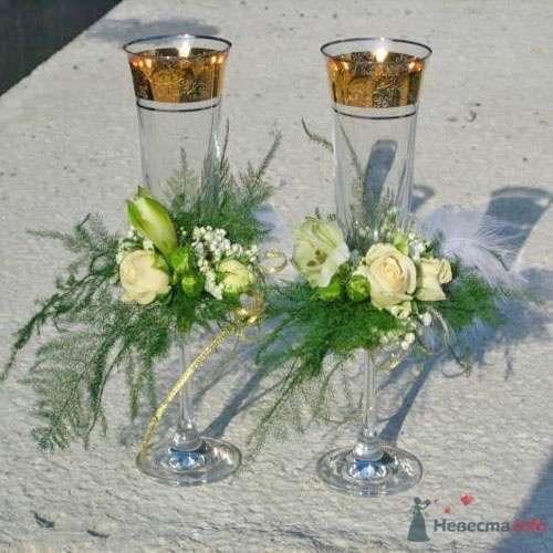 """Фото 33773 в коллекции Свадебные аксессуары - Студия флористики """"Вистерия"""""""