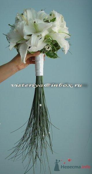 """Фото 33908 в коллекции Букет невесты и бутоньерка. - Студия флористики """"Вистерия"""""""