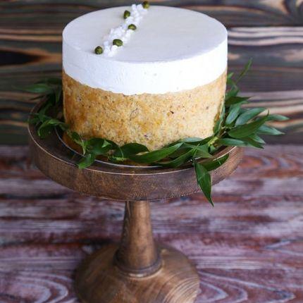 Постный клубнично-лаймовый торт
