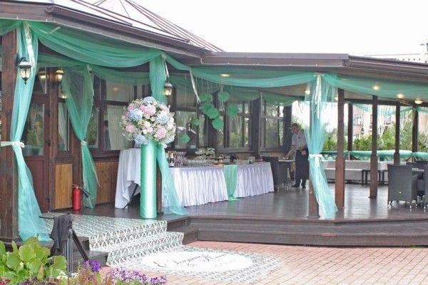 беседки веранды террасы свадьба