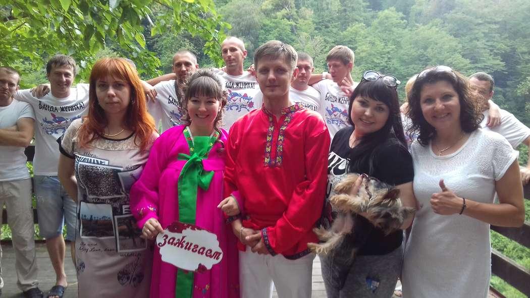 Свадьба Антона и Анны 25.06.16 на Ореховских водопадах - фото 11207672 Ведущая Марина Rogova