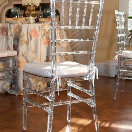 Аренда прозрачного стула - коллекция Кьявари, цена за 1 шт
