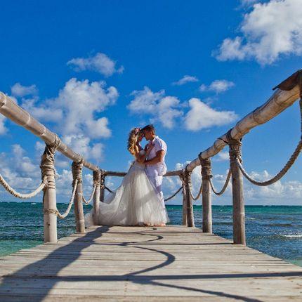 Свадебная фотосессия с аркой