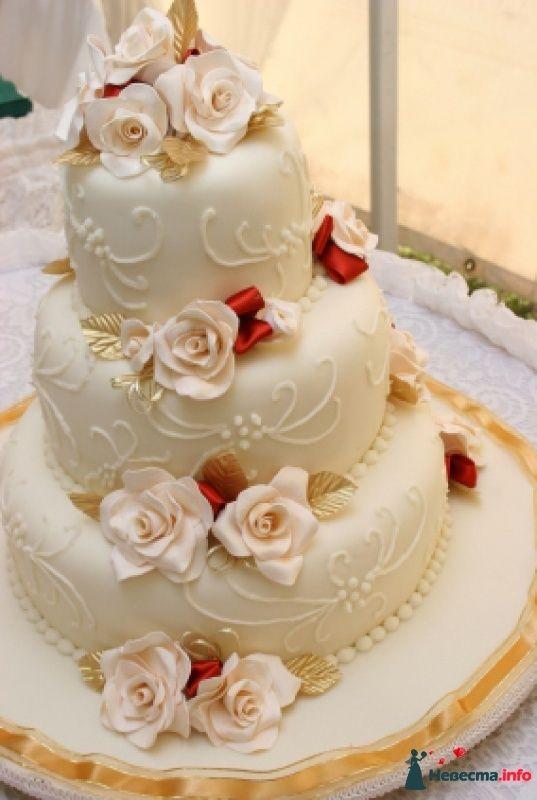 Заказ свадебных тортов фото