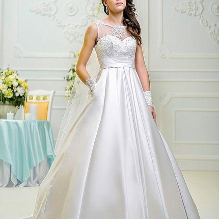 Роскошное свадебное плаье